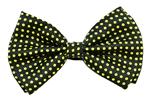 Black-Yellow-Polka-Dots-Bow-Tie