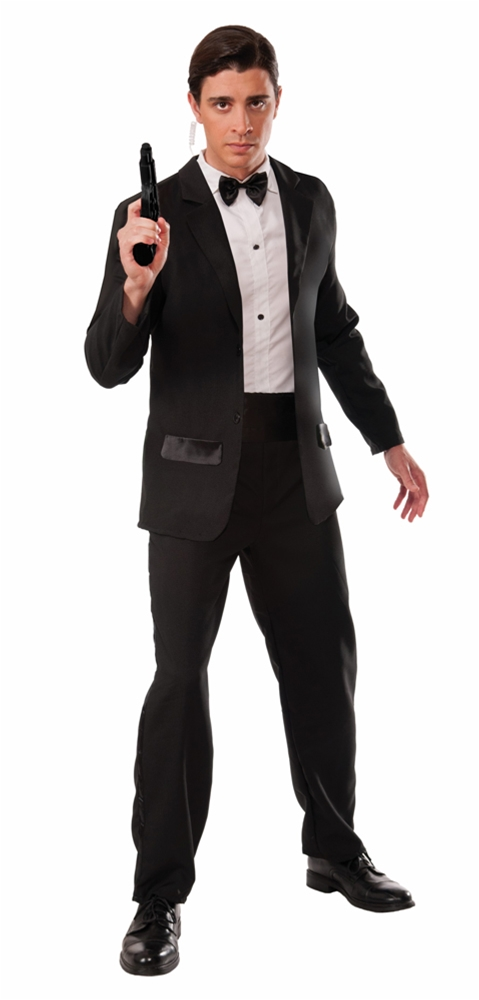 Secret Agent Tuxedo Adult Mens Costume
