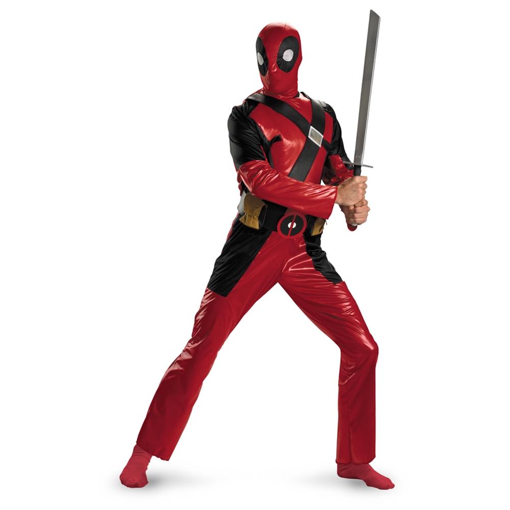 Deadpool Adult Mens Costume