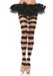 Sheer-Opaque-Striped-Pantyhose