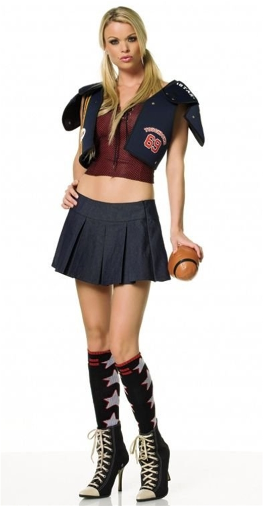 Miss Tackle Football Adult Womens Costume