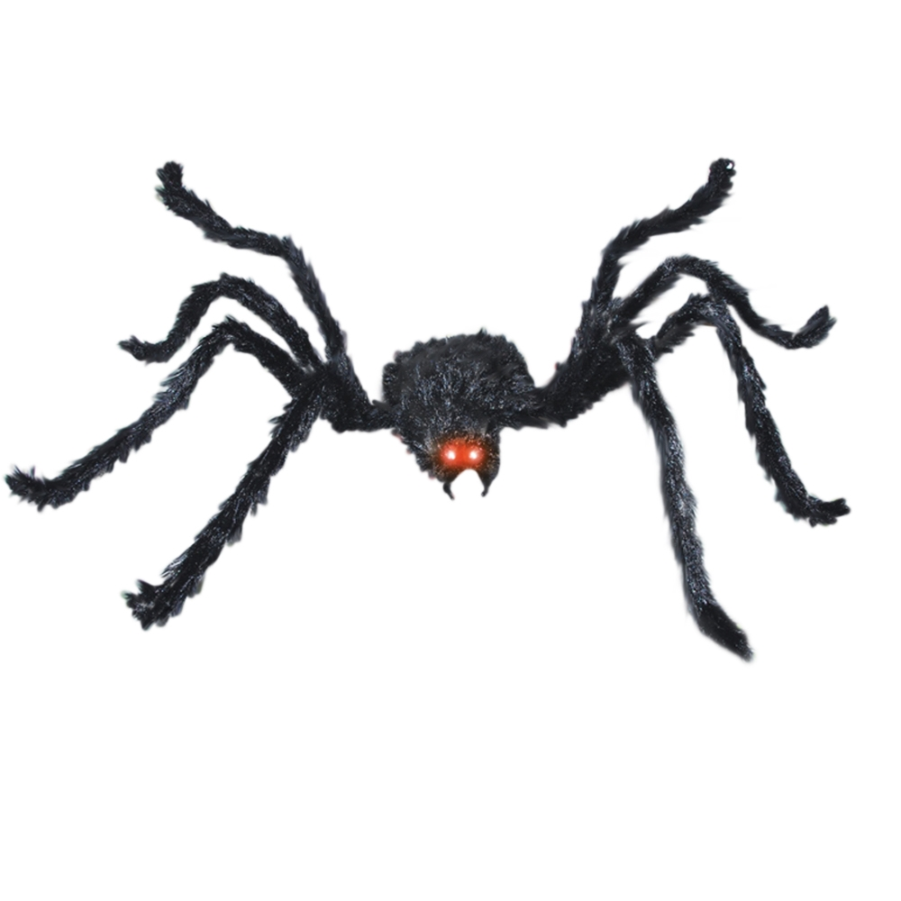 Black Spider Animated Prop