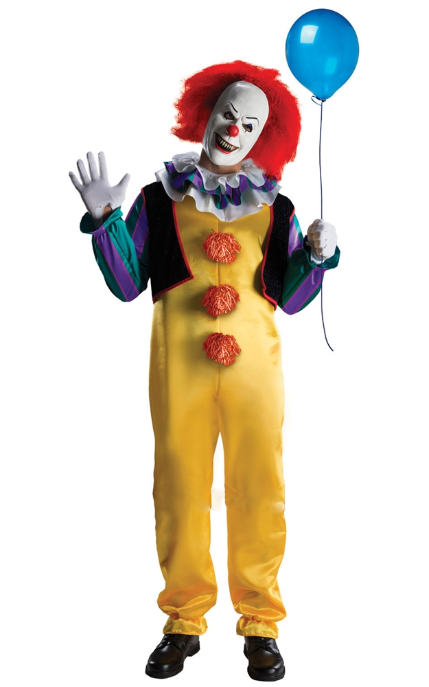 Pennywise Deluxe Adult Mens Costume