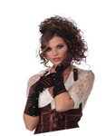 Steampunk-Long-Brown-Gloves