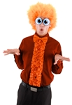 Fuzzy-Orange-Wig
