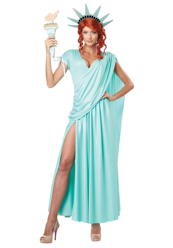 Lady Liberty Adult Womens Costume