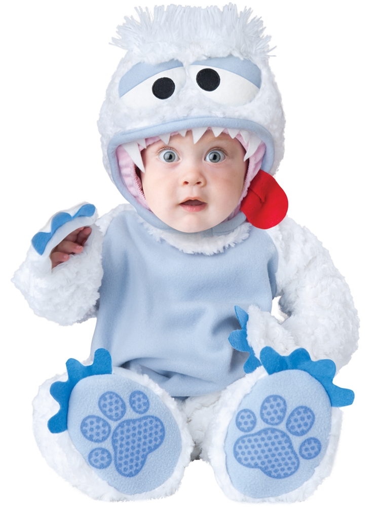 abominable snow baby - Baby First Halloween