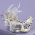 Satin-Feathered-Mask-with-Comfort-Arms-(More-Colors)