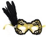 Apollonia-Side-Feather-Velvet-Mask