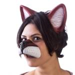 Anime-Latex-Fox-Nose-Ears-Set