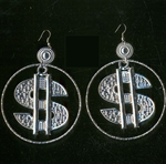 Dollar-Sign-Earrings