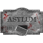Asylum-Foam-Sign