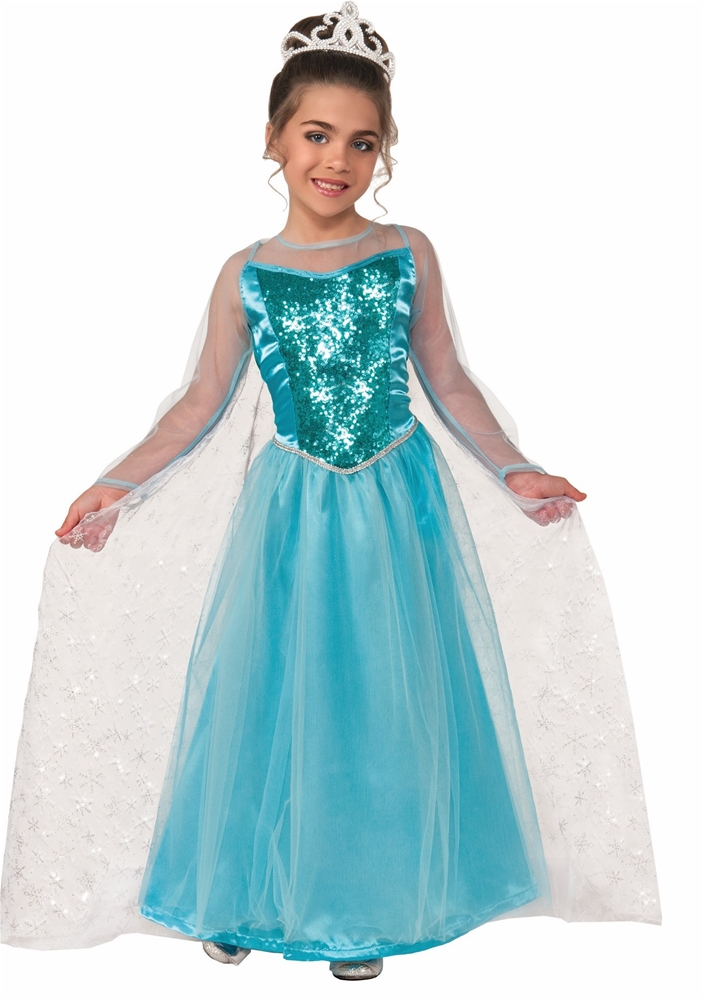 Snow Queen Princess Krystal Toddler & Child Costume