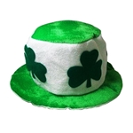 St-Patricks-Green-White-Clover-Hat
