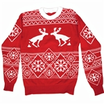 Pooping-Moose-Adult-Ugly-Christmas-Sweater