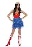 Wonder-Woman-Adult-Womens-Tutu-Skirt-Dress