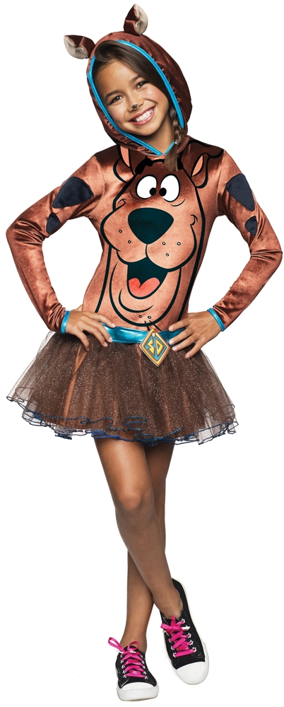 Scooby-Doo Hoodie Dress Child Costume