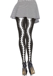 Skeleton-Spine-Backseam-Pantyhose