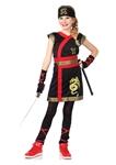 Ninja-Warrior-Princess-Child-Costume