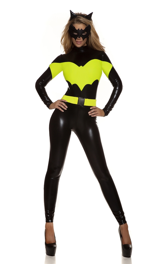 Darque Nights Sexy Superhero Adult Womens Costume
