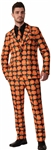 Orange-Pumpkin-Adult-Mens-Suit-Tie