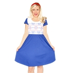 Captain-America-Adult-Womens-Dress