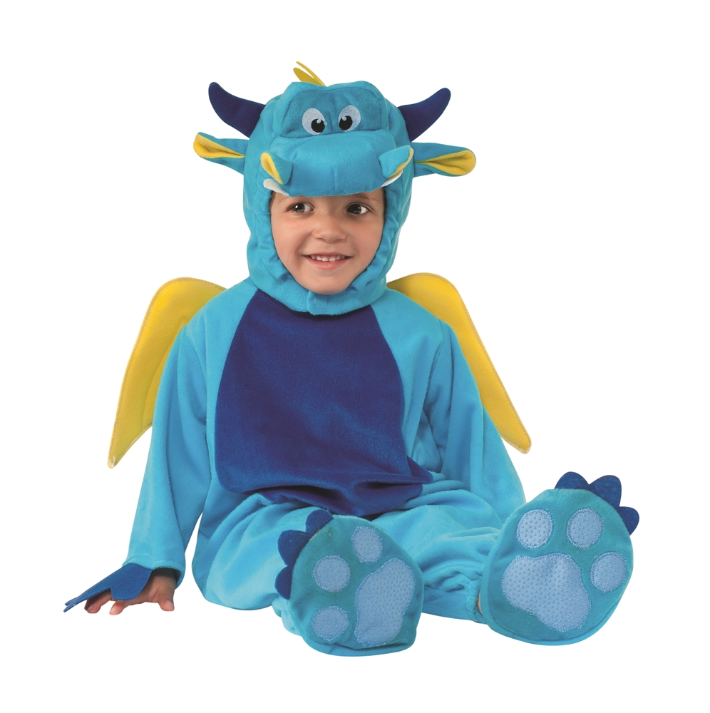 Blue Dragon Toddler Costume