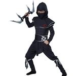 Ninja-Warrior-Child-Costume
