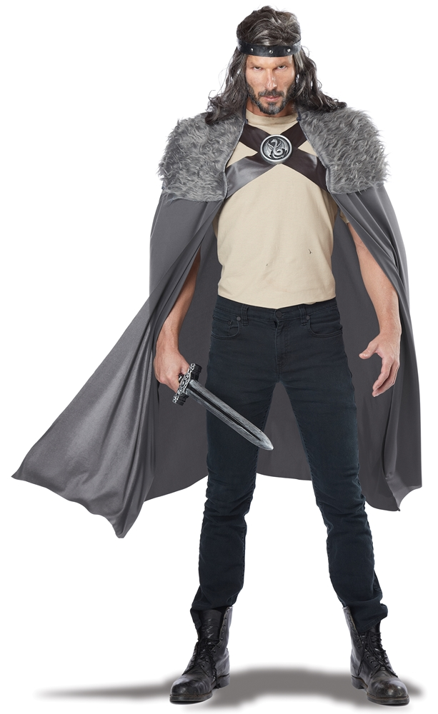 Dragon Master Grey Cape