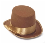 Steampunk-Brown-Bell-Topper-Hat