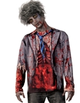 Gory-Zombie-Adult-Mens-Shirt