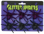 Glitter-Spider-Pack-6ct-(More-Colors)