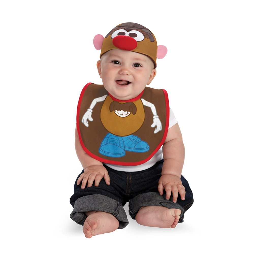 Mr. Potato Head Bib & Hat Set