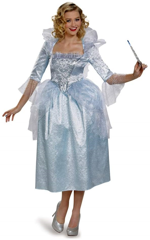 Cinderella Deluxe Fairy Godmother Adult Costume