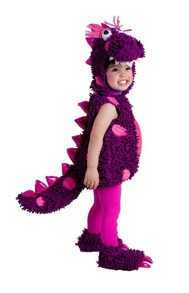 Roaring Purple Dragon Toddler Costume