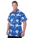 Blue-Hawaiian-Aloha-Adult-Mens-Shirt