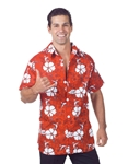 Red-Hawaiian-Aloha-Adult-Mens-Shirt