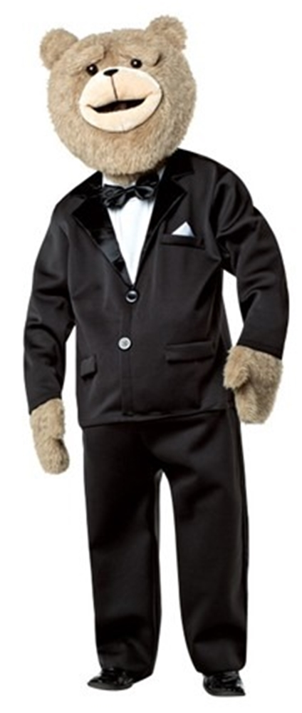 Ted 2 Tuxedo Adult Costume with Sound