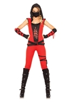 Red-Ninja-Assassin-Catsuit-Adult-Womens-Costume