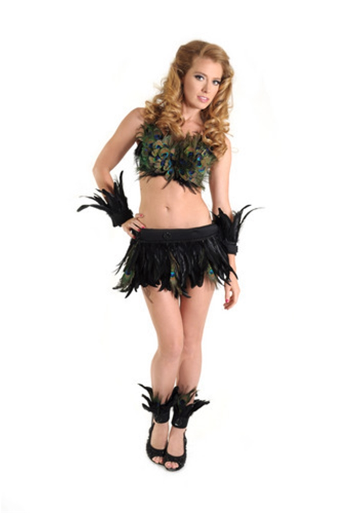 Sexy Peacock Deluxe Adult Womens Costume