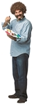 Bob-Ross-Painter-Adult-Costume-Kit