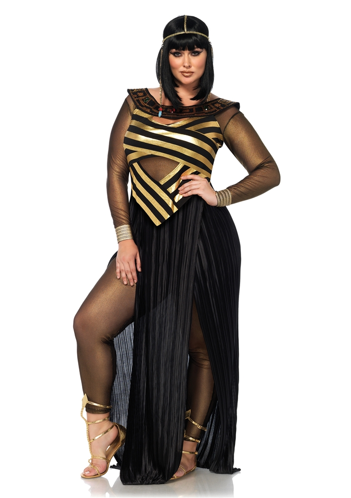 Egyptian Nile Queen Adult Womens Plus Size Costume