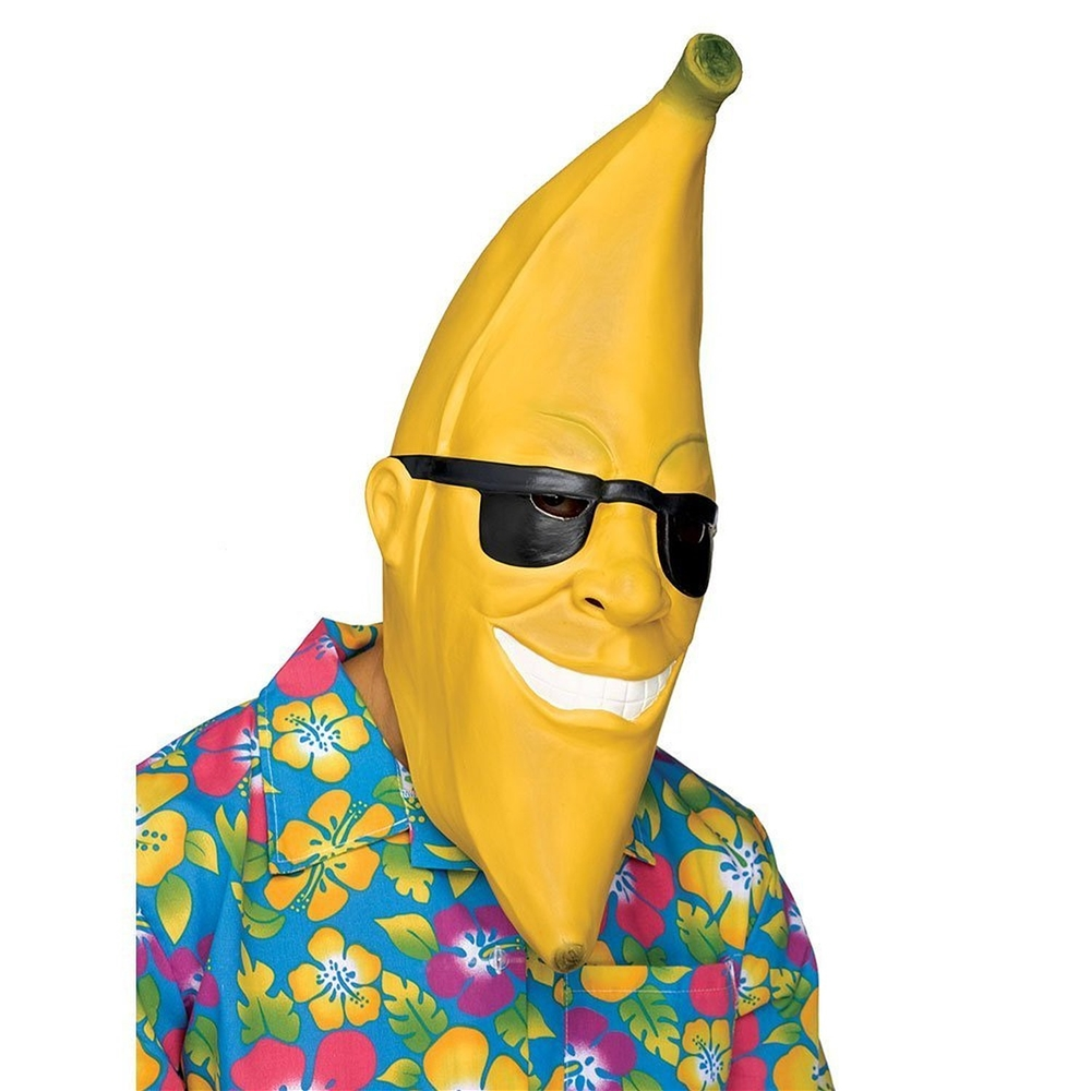 Mr. Banana Man Adult Latex Mask