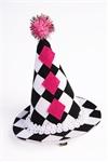 Harlequin-Mini-Clip-On-Hat