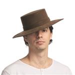 Spanish-Flamenco-Faux-Leather-Hat