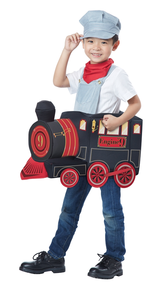 All Aboard Train Engineer Child Costume