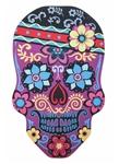Carnival-Skull-Floral-Doormat
