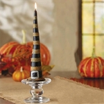Striped-Witch-Hat-Taper-Candle