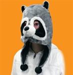 Raccoon-Plush-Mask
