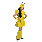 Pikachu-Dress-Child-Costume